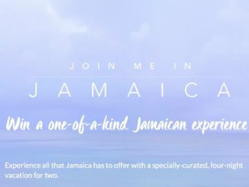 Join Me in Jamaica Sweepstakes