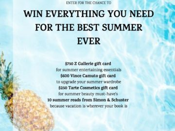 Win Everything You Need for Your Best Summer Sweepstakes