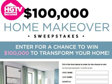 HGTV Dream Big Sweepstakes