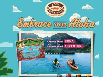 Kona Brewing Company Embrace Your Aloha Sweepstakes