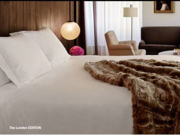 Shop EDITION Hotels Sweepstakes