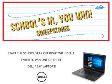 Rent-A-Center School's In, You Win Sweepstakes