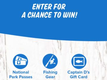 Go Fishing with Captain D's Sweepstakes and Instant Win Game