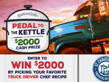 Southern Recipe Pedal to the Kettle Sweepstakes