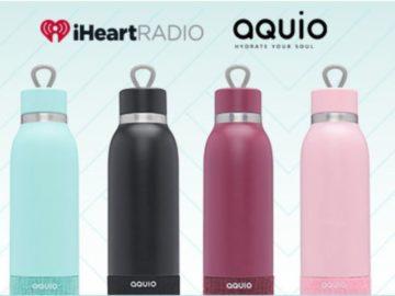 Win an Aquio Bluetooth Speaker Bottle!
