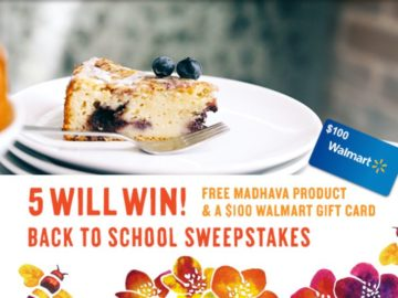 Madhava Back to School Sweepstakes