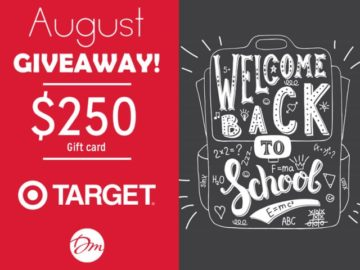 Win a $250 Target Gift Card!