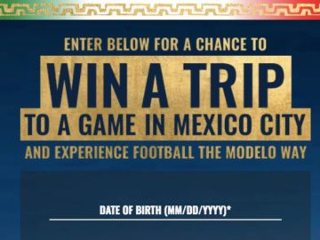 Modelo Mexico City 2018 Sweepstakes