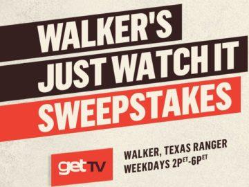 Walker's Just Watch It Sweepstakes (Watch & Win)