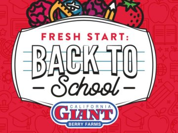 California Giant Berry Farms Fresh Start: Back to School Sweepstakes