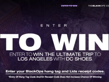 DC Shoes Ultimate Trip to Los Angeles Sweepstakes