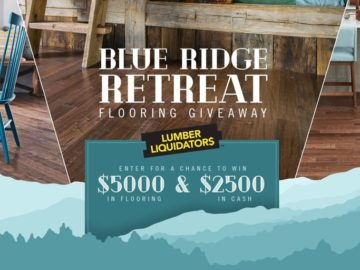 HGTV Blue Ridge Retreat Flooring Sweepstakes