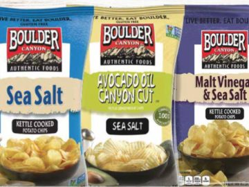 Boulder Canyon Authentic Foods Sweepstakes