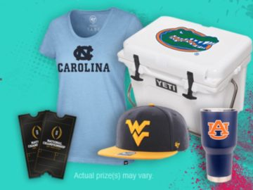 2018 College Colors Day Daily Sweepstakes