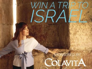Colavita Win a Trip to Israel Sweepstakes