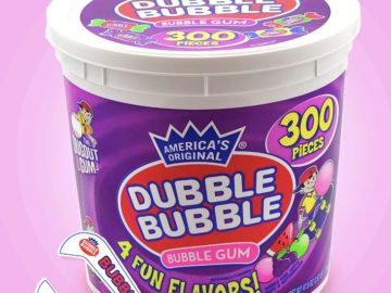 Win a Tub of Dubble Bubble Bubble Gum!
