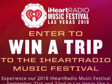 Win A Trip To The iHeartRadio Music Festival!