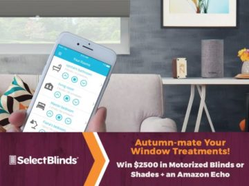 Select Blinds Autumn-mate Your Windows Contest