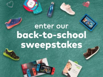 Stride Rite Back to School Sweepstakes