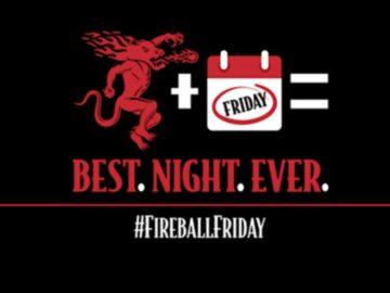 Fireball Fridays Instant Win Game