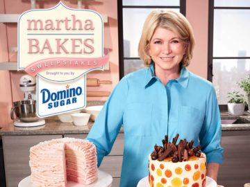 Domino Sugar Martha Bakes Sweepstakes