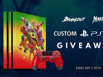 Brawlout Playstation Pro 4 Pro Giveaway