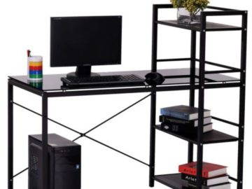 Win a Modern Office Desk with Storage