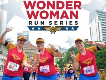 DC Wonder Woman Run Sweepstakes