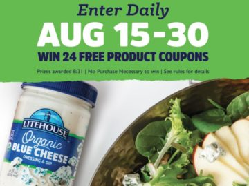 Litehouse Build a Better Salad Sweepstakes