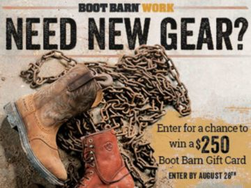 Boot Barn On the Job Giveaway