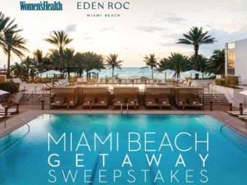 Women's Health Miami Beach Getaway Sweepstakes