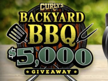 Curly's Backyard BBQ $5,000 Sweepstakes