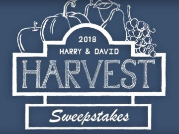 Harry & David 2018 Harvest Sweepstakes