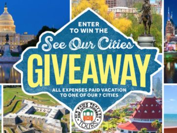 Old Town Trolley See Our Cities Sweepstakes