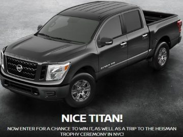 Car giveaway sweepstakes 2018 nissan