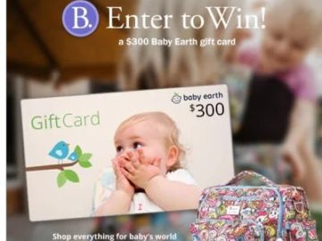 Babywise – Win a $300 Baby Earth Gift Card
