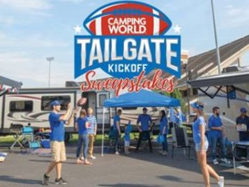 Camping World Tailgate Kickoff Sweepstakes