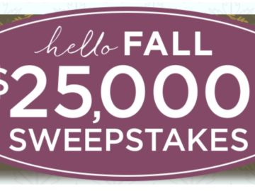 QVC's Hello Fall Sweepstakes