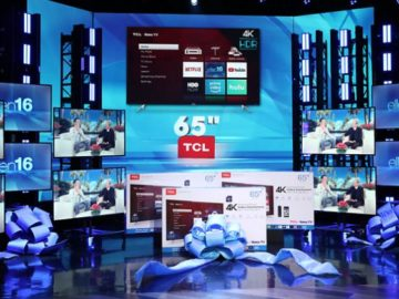 """Win a 65"""" TCL Roku TV!"""