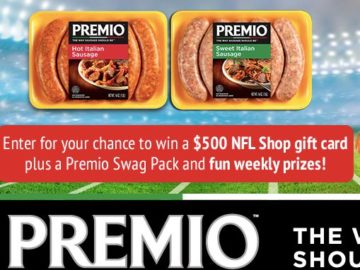 Premio Foods Game-Time Spread Sweepstakes