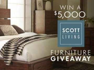 ValueCity Furniture $5,000 Scott Living Furniture Giveaway