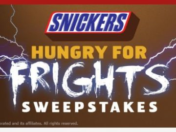 Snickers Hungry for Frights Sweepstakes