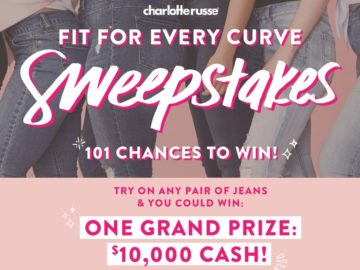 """The Charlotte Russe """"Fit for Every Curve"""" Sweepstakes"""