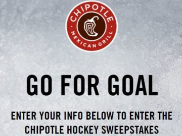 Chipotle Chance-to-Win Sweepstakes