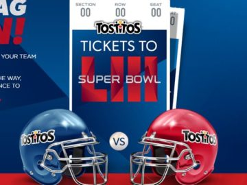 Tostitos Super Bowl Matchup Sweepstakes (Code)