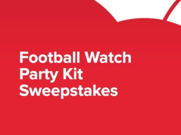 Coca-Cola Football Watch Party Kit Sweepstakes