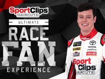 Sport Clips Ultimate Race Fan Experience in Texas Sweepstakes
