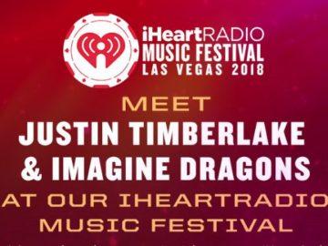 Justin Timberlake and Imagine Dragons iHeartRadio Sweepstakes
