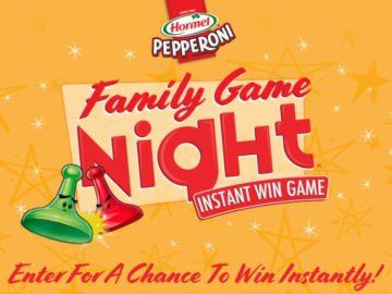 Hasbro's Family Game Night Instant Win Game from HORMEL