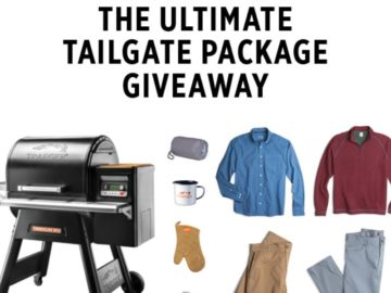 Johnie-O Ultimate Tailgate Package Giveaway